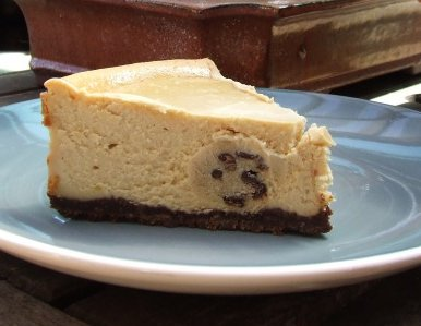 Peabodys Chocolate Chip Cookie Dough Cheesecake